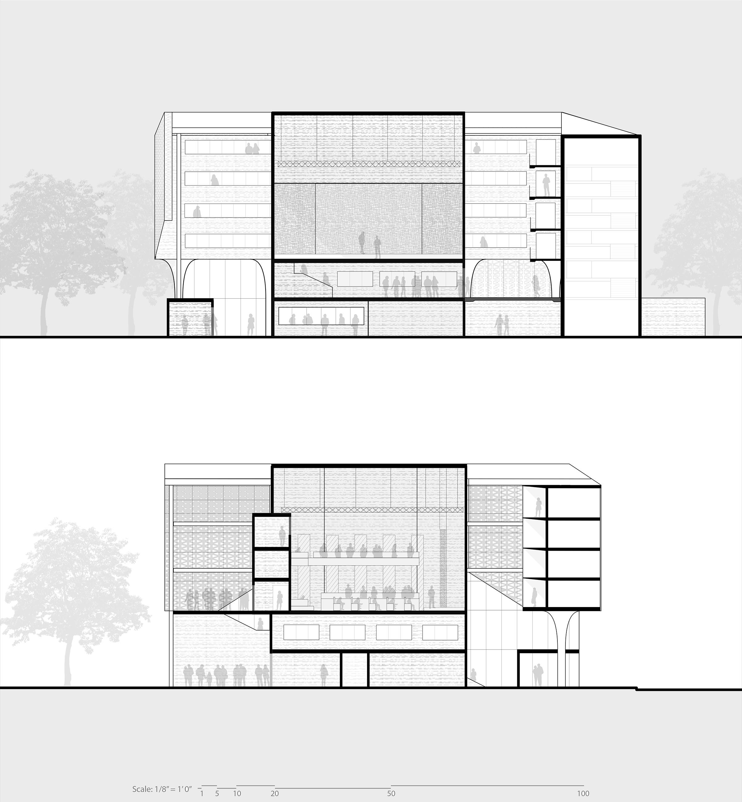 Jonathan Malott theatre sections