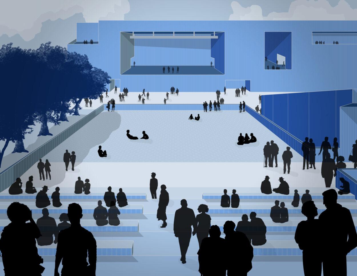 Stadium Perspective | Jonathan Malott