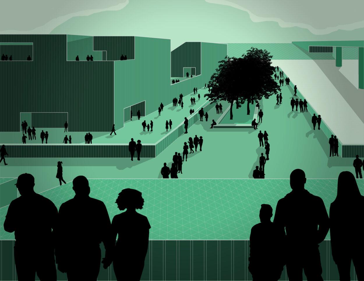 Stadium Perspective   Jonathan Malott